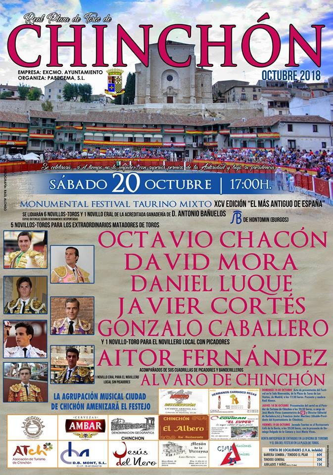 Festival Taurino 2018 Chinchón