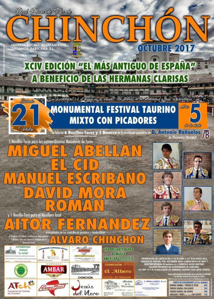 Festival Taurino Chinchón 2017