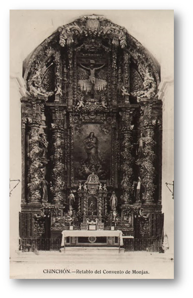 Retablo Monasterio de las Clarisas de Chinchón
