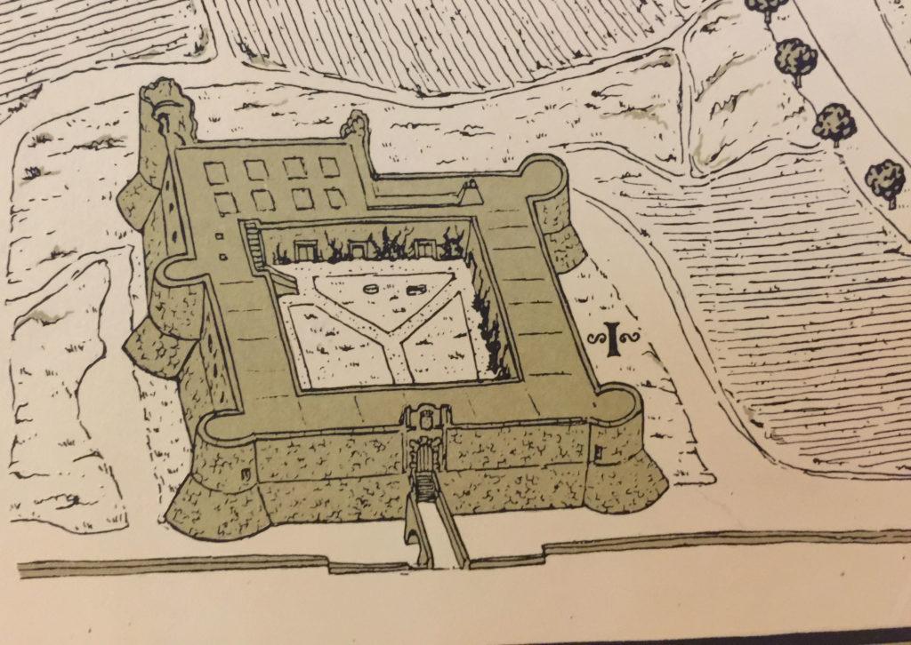 Plano de Chinchón de Carlos Alonso