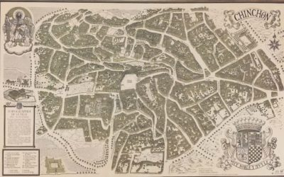 Plano Histórico de Chinchón de Manolo Gomez-Zia y Carlos Alonso