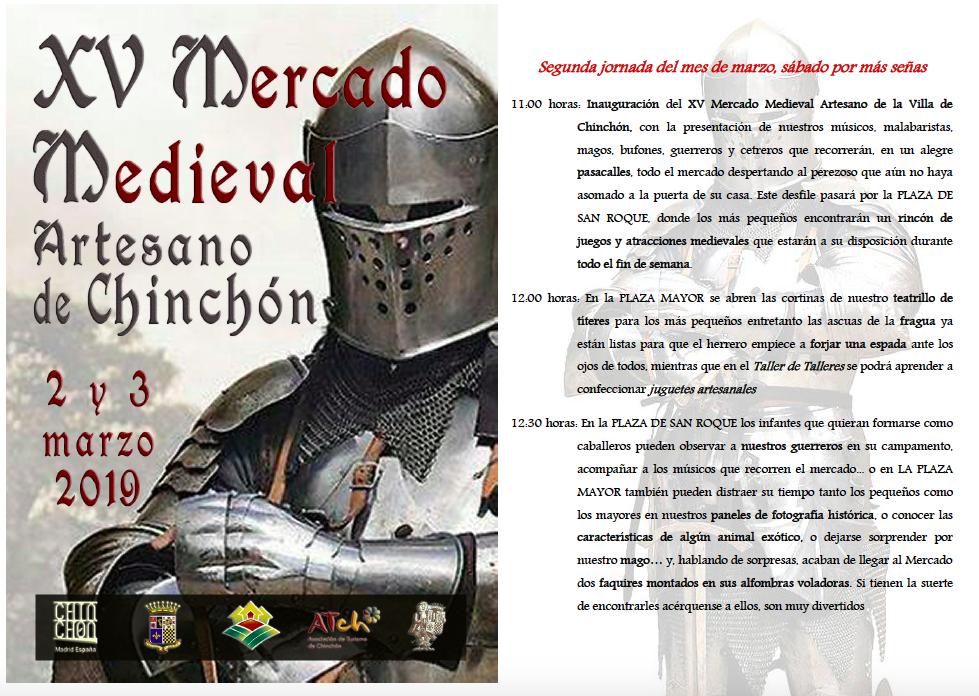 Programa Mercado Medieval Carnaval 2019 Chinchón