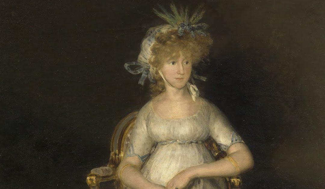 Historia del cuadro de la Condesa de Chinchón