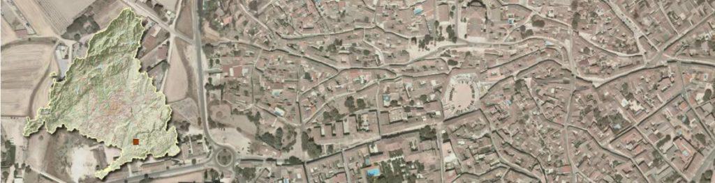 Vista aérea Chinchón